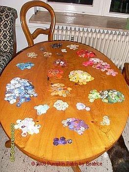 Hexagons sortiert