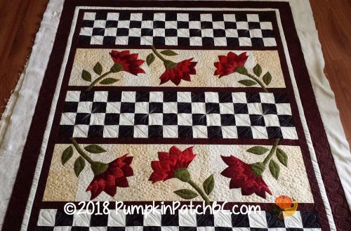 Quilt Patch Flowers