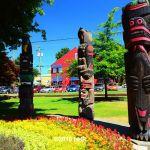 Totem Poles Duncan BC