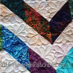 Chevron Quilt Detail 2