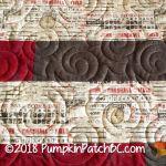 Reversible Strip Quilt Detail