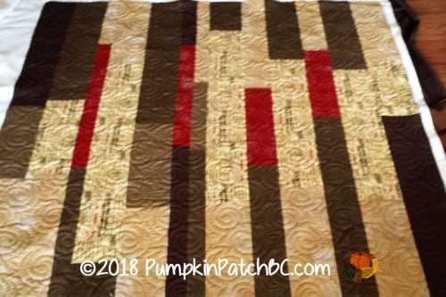 Reversible Strip Quilt