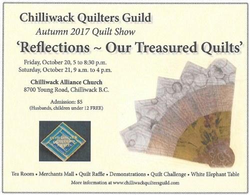 Chilliwack Quilt Show 2017