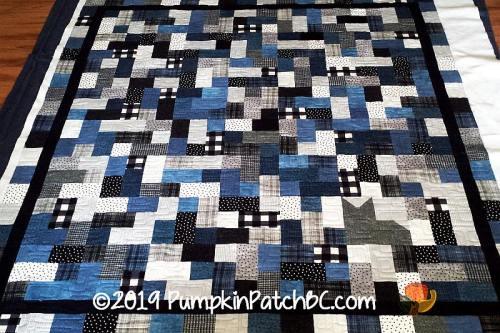 Hopscotch Flannel Quilt
