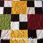 Flannel Squares Detail 2