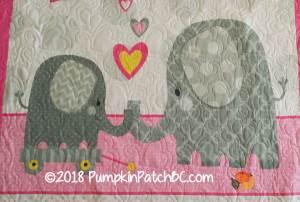 Hello Baby Elephant Detail 1