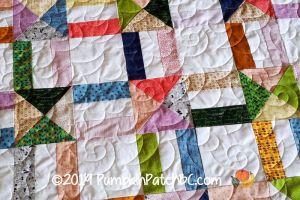 QST Scrap Quilt Detail 2