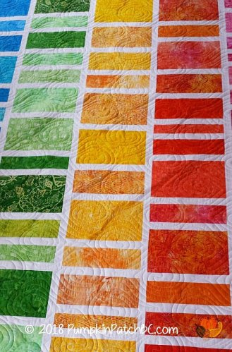 Rainbow Rectangles Detail 3