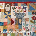 Sopwell Ladies Basket Society Quilt Detail 3