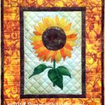 PPP-049 Sunflower Quilted Wall Hanging Pattern