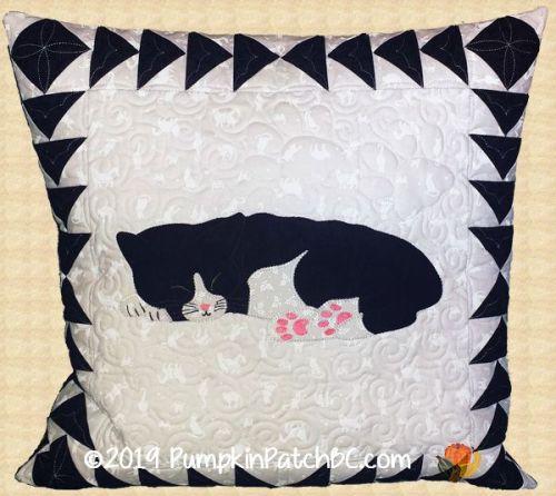 Sleeping Kitty Pillow