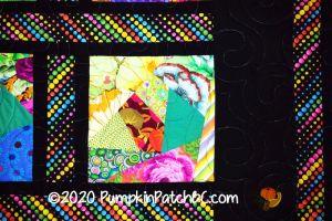 Rainbow Bubbles Detail 2