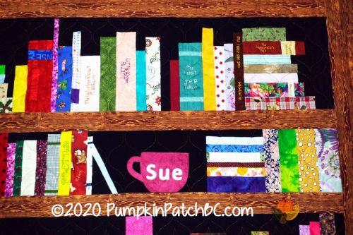 Sue's Bookcase Detail 1