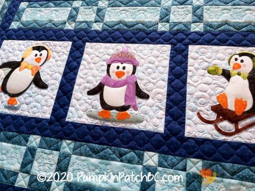 Penguins Quilted