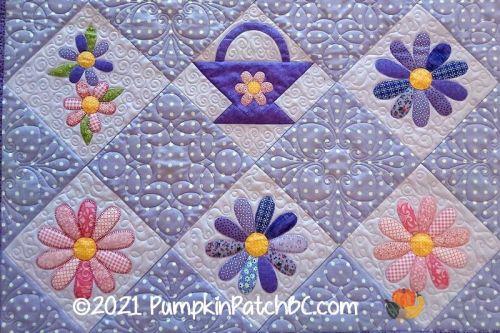 Flower Baskets Detail 1