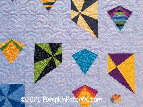 Colorful Kites Detail 1