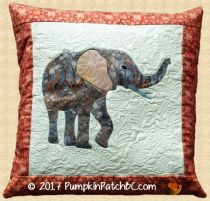 Elephant Pillow PPP034