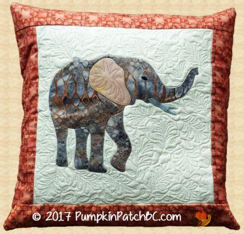 Elephant Pillow PPP034
