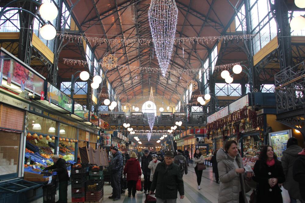 Große Markthalle, Budapest
