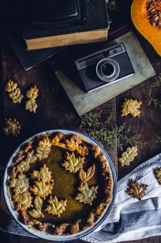 Chai pumpkin pie