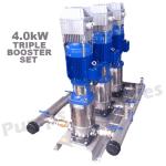 4.0kW Triple Booster set