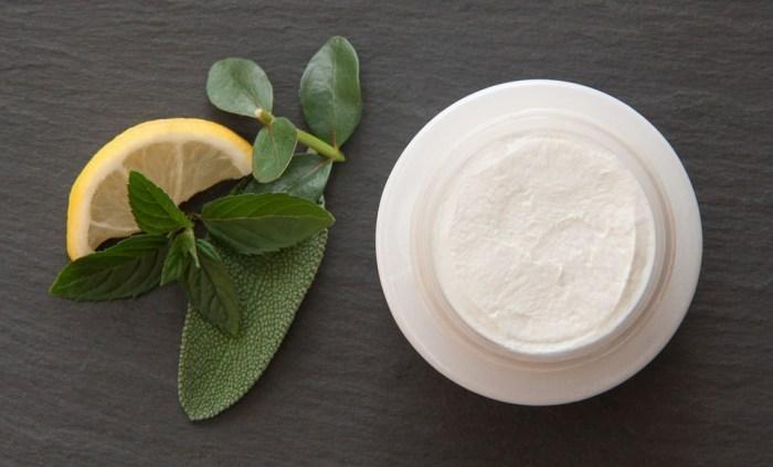 Mint Eucalyptus Lemon Skin Care Deo Creme Sage