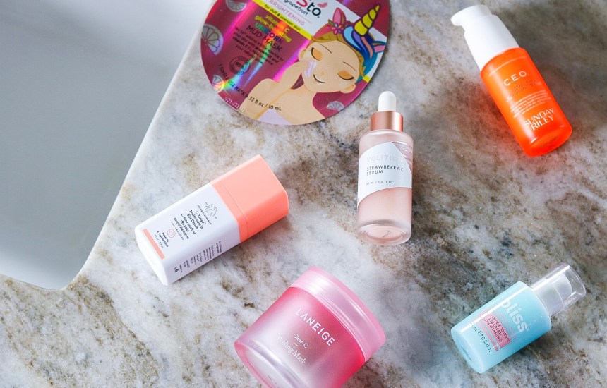 My Top 7 Favorite Vitamin C Skincare Products!
