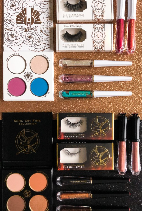 The Hunger Games Exhibition Makeup Collection
