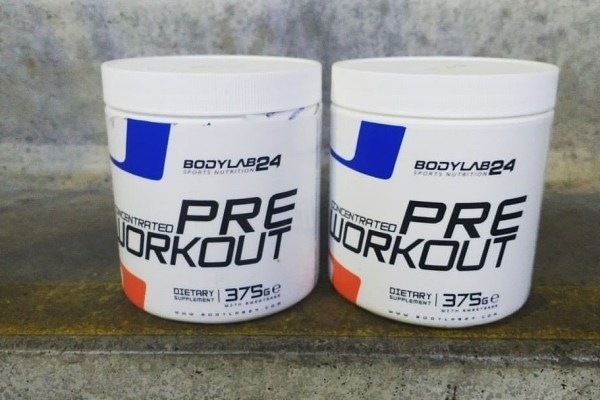 pre-workout concentrated bodylab