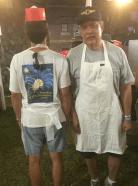 Mikasa and Jim Scott.
