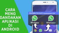 Cara Menggandakan Aplikasi di Android