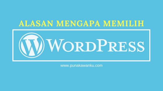 Alasan Mengapa Anda Harus Memilih Wordpress