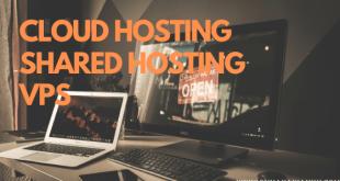 Perbedaan cloud hosting shared hosting vps