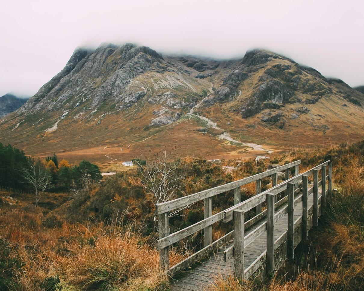 Маршрут по Шотландии