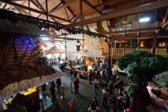 Great Wolf Lodge Niagara Falls Lobby Overhead