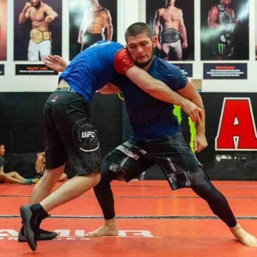 Two-time World Combat Sambo Champion and UFC Champion Khabib Nurmagomedov