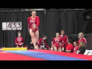 Kirsten Peterman (CAN) - Vault - 2016 Pacific Rim Championships Team/AA Final