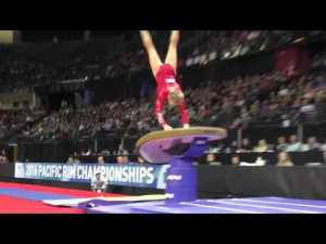 Brittany Rogers (CAN) - Vault 2 - 2016 Pacific Rim Championships Team/AA Final