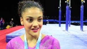 Laurie Hernandez - Interview - 2016 Pacific Rim Championships Team/AA Final