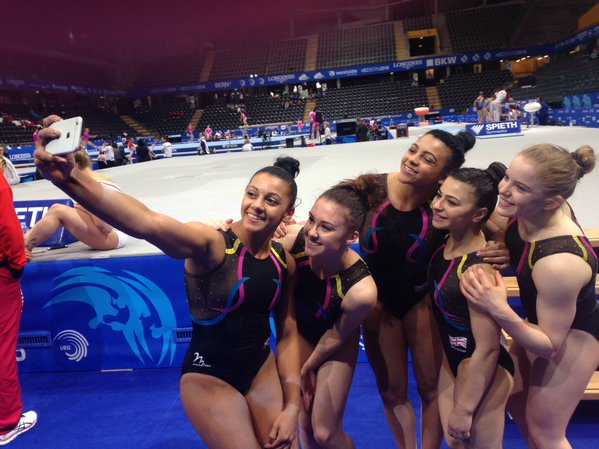 british team 2016 euros selfie