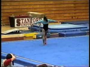 Jamie Dantzscher - 2001 UCLA @ Stanford Floor Exercise