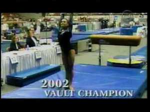Jamie Dantzscher - 2004 NCAA Gymnastics Championships - Floor, Bars and Fluff