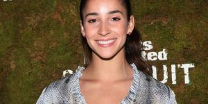 Aly Raisman at Sports Illustrated Models Bungalow Party3
