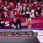 GiGi Marino Georgia Floor 2015 vs Arkansas 9.950