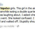Hipsters on Facebook: Attacking a Hipster