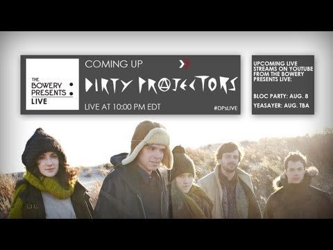 Watch Dirty Projectors Playing The Music Hall of Williamsburg