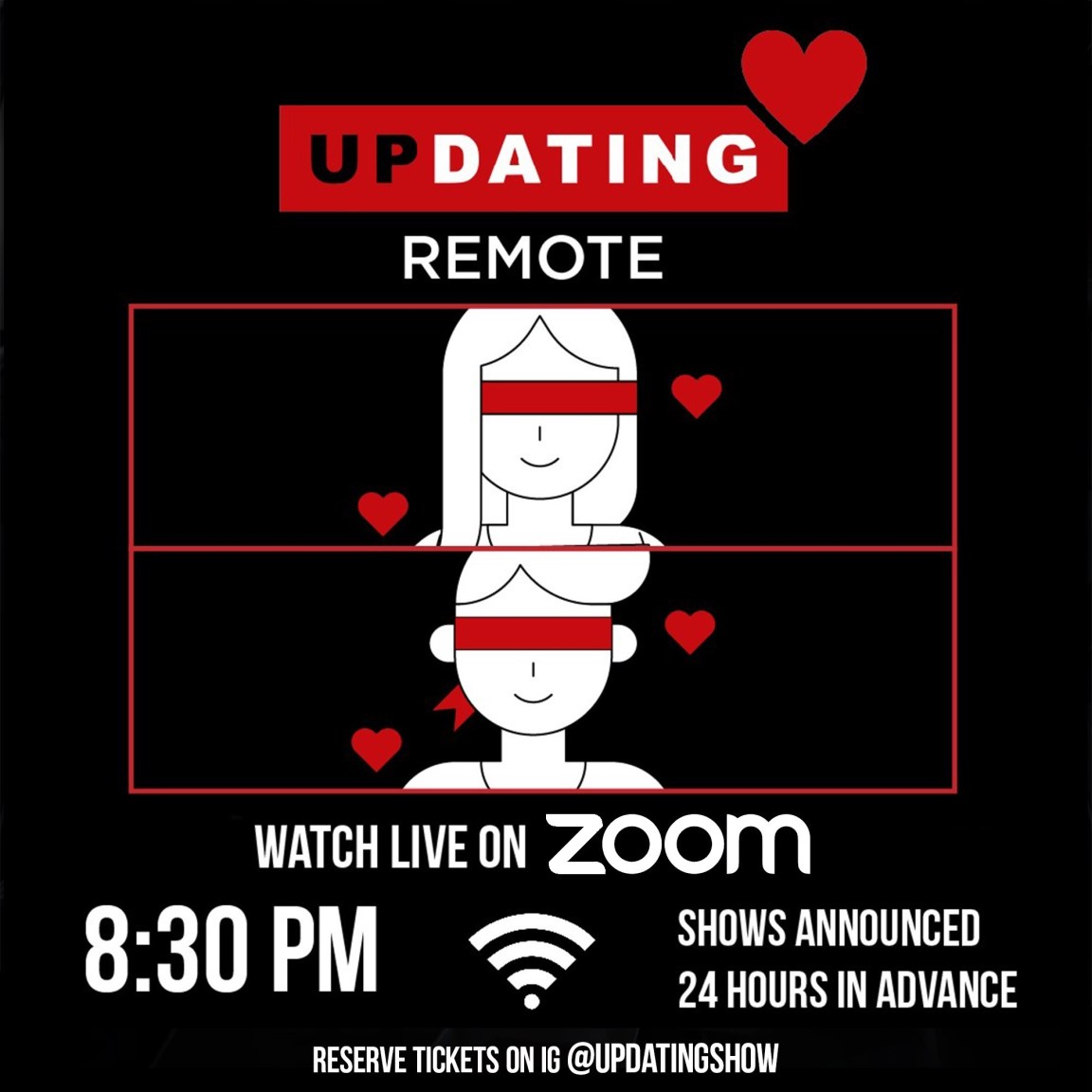 After Drawing Crowds, a Live Dating Show Is Forced to Get a Room