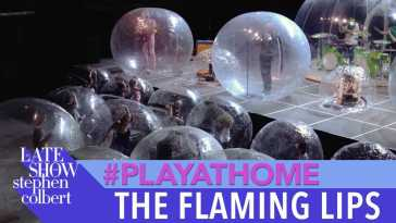 "The Flaming Lips ""Race For The Prize"" – Late Show #PlayAtHome"