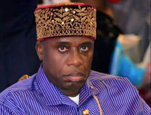 Image result for Tweet   Share  Pin it  +1 Minister of Transportation, Mr. Rotimi Amaechi