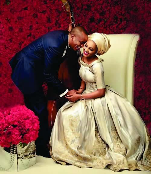 Image result for Buhari's daughter, Zahra, celebrates husband on birthday